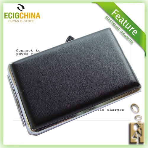 Black Portable Case For E-cigarette Electric Cigaret
