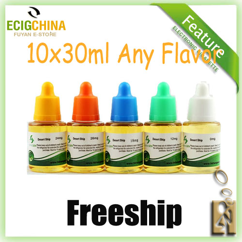 10 x 30ml Hangsen e-liquid Wholesale Freeship